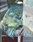 Abschied, 60x50 mit Rahmen, Acryl auf Papier, 2017