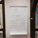 Vorstudie Body Pastellkreide auf Papier
