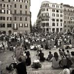 Piazza di Spagna.