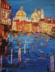 Venezia, huile, 90X70 cm