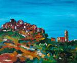 San Antonino, huile, 75X60 cm