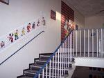 Vorderer Treppenaufgang