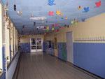 Flur im Erdgeschoss der Grundschule