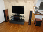 "THX Dolby Surround- Anlage 5.1 mit 12"" Subwoofer, DVD-Player und 42"" LED- TV"