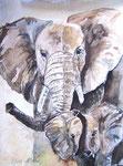 Elefantenmama - verkauft