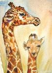 Giraffenmama - verkauft