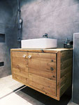 Bathroom-furniture, Drift-Wood style