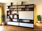Book shelf unit
