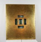 """Objekte l  Kalman Varady """"Elixier"""" 2014  74 x 61 x 4 cm"""