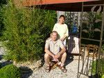 Regina und Jürgen Oppermann: Kuschelgarten mit kleinem Strand