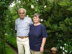 Siegrid und Walter Wollenweber: Rosenbögen und Buchsbaumschwung