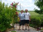 Heide und Axel Kreutzburg: Garten-WG