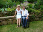 Kirstin und Alwin Messerschmidt: Garten am Hang