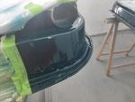 Lackierung mit Wagenfarbe