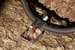 Pendentif argent avec quartz paysage