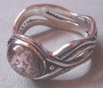 Bracelet argent avec quartz paysage
