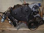 TDI-Motor samt Anbauteilen