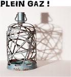 Sculptures sur bouteilles de gaz