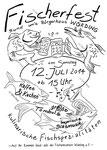 Plakat für den Fischereiverein Würding