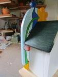 Houten Nestkastje De Kabouter, Details, bouwen, achterkant
