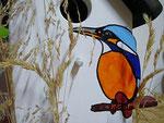 Houten Nestkastje, Nestkastje met IJsvogel, Details, Vogelhuisje bouwen ,  vogelhuisje met ijsvogel _4
