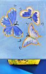 Houten Nestkastje voor Pindakaas pot , Nestkastje, thema, Vlinder, Vogelhuisje bouwen, vogelhuisje pindakaas pot, vlinder-huisje