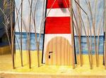 Houten Nestkastje voor Pindakaas pot , Nestkastje, thema, Strand, Vogelhuisje bouwen, vogelhuisje pindakaas pot , strand-huisje_7