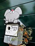 """Houten Nestkastje , """"De Olifant"""", Details, Vogelhuisje bouwen, Vogelhuisje cadeau_4"""