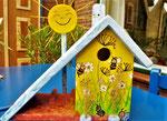 Houten Nestkastje voor Pindakaas pot , Nestkastje, thema, Bijen,Vogelhuisje bouwen, vogelhuisje pindakaas pot , bijen-huisje_13