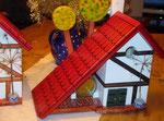 Houten Nestkastje voor Pindakaas pot , Nestkastje, thema, Vakwerk,Vogelhuisje bouwen, vogelhuisje pindakaas pot , vakwerkhuisje_10