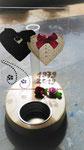 Bruiloft Huwelijk Trouwen sfeerlicht waxinelichtje mooi kaarshoudertje cadeau