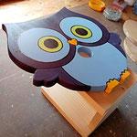 """Houten Nestkastje , """"Nestkastjes in vorm van een Uil, Details, Vogelhuisje bouwen ,  vogelhuisje Uil in de maak_3"""