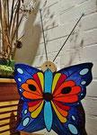 """Houten Nestkastje , """"Nestkastjes in vorm van Vlinder , Details, Vogelhuisje bouwen ,  vogelhuisje vlinder eindresultaat_1"""