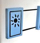 Houten Nestkastje,  Deuren en Ramen Grieks Nestkastje , Details, Vogelhuisje bouwen ,  deuren en ramen Grieks vogelhuisje _22