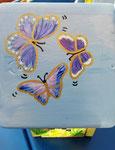 Houten Nestkastje voor Pindakaas pot , Nestkastje, thema, Vlinder, Vogelhuisje bouwen, vogelhuisje pindakaas pot, vlinder-huisje_4