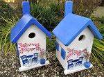 """Houten Nestkastje , """"Nestkastje met Grieks Bistrootje , Details, Vogelhuisje bouwen , vogelhuisje met Grieks Bistrootje, Huisjes details_1"""
