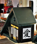 Houten Nestkastje voor Pindakaas pot , Nestkastje, thema, Liefde & Familie,Vogelhuisje bouwen, vogelhuisje pindakaas pot_3