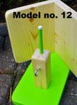 Pindakaas pot houder, model_12, appelgroen-blank (1)