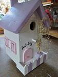 Houten Nestkastje, Nestkastje  Cottage, Details, Vogelhuisje bouwen ,  vogelhuisje -cottage_2