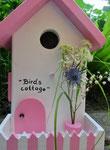 Houten Nestkastje, Nestkastje  Cottage, Details, Vogelhuisje bouwen ,  vogelhuisje -cottage_9