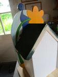 Houten Nestkastje De Kabouter, Details, bouwen, achterkant_1