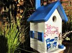 """Houten Nestkastje , """"Nestkastje met Grieks Bistrootje , Details, Vogelhuisje bouwen , vogelhuisje met Grieks Bistrootje, Huisjes details_5"""