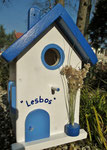 Houten Nestkastje , Grieks Nestkastje met Tekst , Details, Vogelhuisje bouwen ,  Grieks vogelhuisje met tekst , Huisjes details_1