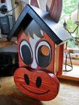 """Houten Nestkastje , """"Nestkastjes in vorm van Paard , Details, Vogelhuisje bouwen , in de maak_2"""