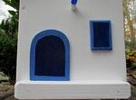 Houten Nestkastje,  Deuren en Ramen Grieks Nestkastje , Details, Vogelhuisje bouwen ,  deuren en ramen Grieks vogelhuisje _2