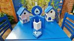 """Houten Nestkastje , """"Nestkastje met Grieks Bistrootje , Details, Vogelhuisje bouwen , vogelhuisje met Grieks Bistrootje, Huisjes details_4"""