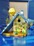 Houten Nestkastje voor Pindakaas pot , Nestkastje, thema, Vlinder, Vogelhuisje bouwen, vogelhuisje pindakaas pot, vlinder-huisje_11