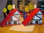 Houten Nestkastje voor Pindakaas pot , Nestkastje, thema, Vakwerk,Vogelhuisje bouwen, vogelhuisje pindakaas pot , vakwerkhuisje_5