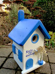 Houten Nestkastje , Grieks Nestkastje met Tekst , Details, Vogelhuisje bouwen ,  Grieks vogelhuisje met tekst , Huisjes details_3
