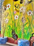 Houten Nestkastje voor Pindakaas pot , Nestkastje, thema, Bijen,Vogelhuisje bouwen, vogelhuisje pindakaas pot , bijen-huisje_6